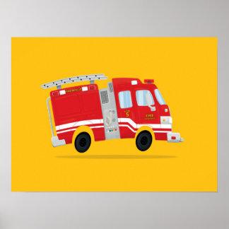 Arte lindo del Firetruck