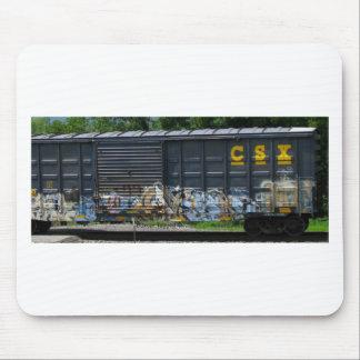 Arte marcado con etiqueta furgón tapetes de ratones