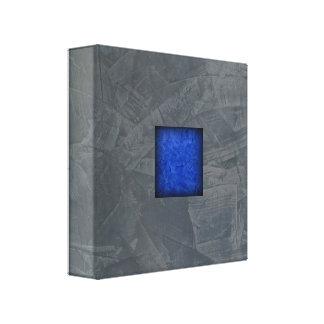 Arte moderno azul marino del gris de pizarra