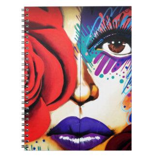 Arte moderno de la calle de NYC Cuaderno