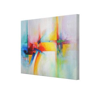 Arte moderno de la pintura abstracta