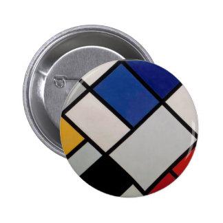 Arte moderno de Piet Mondrian Pin