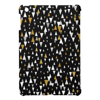 Arte moderno del triángulo - oro negro