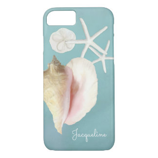 Arte moderno elegante de las estrellas de mar de funda para iPhone 8/7