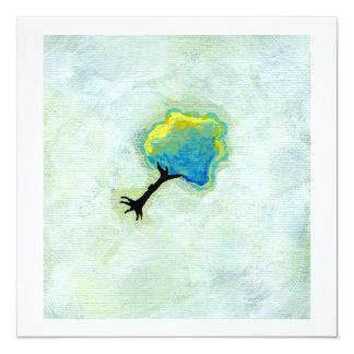 Arte moderno minimalista flotante de la diversión comunicados personalizados