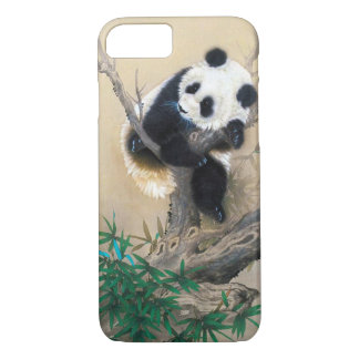 Arte mullido dulce lindo chino fresco del árbol funda para iPhone 8/7