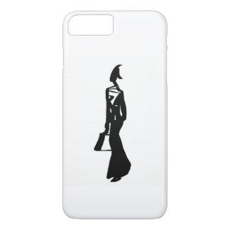 arte negro y blanco funda iPhone 7 plus