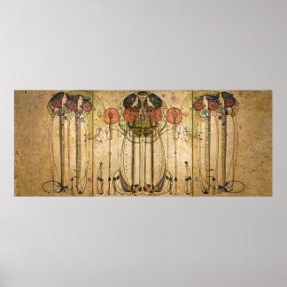 Arte Nouveau Charles Mackintosh el Wassail