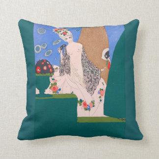 Arte Nouveau de la almohada de tiro del acento del