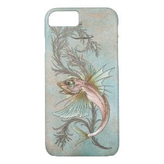 Arte Nouveau de los pescados de la fantasía Funda iPhone 7