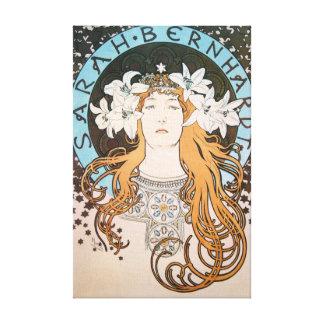 Miles de diseños de lienzos de arte Nouveau en Zazzle
