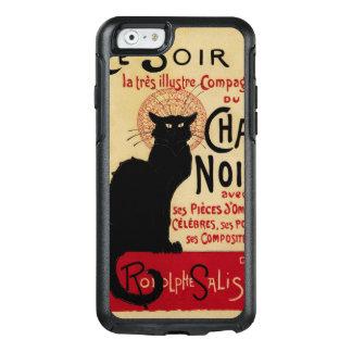 Arte Nouveau, Le Chat Noir del vintage Funda Otterbox Para iPhone 6/6s