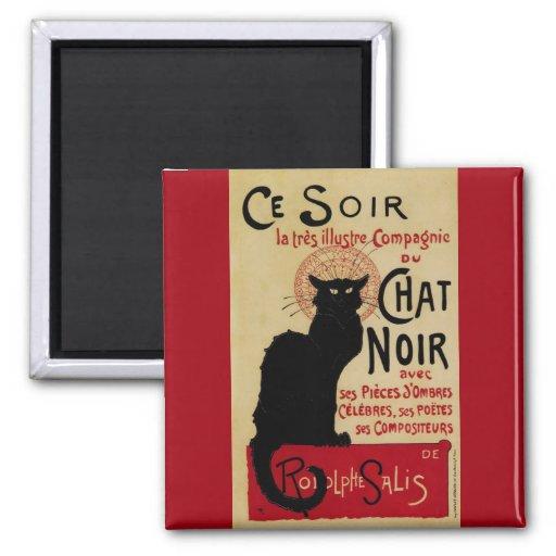 Arte Nouveau, Le Chat Noir del vintage Iman