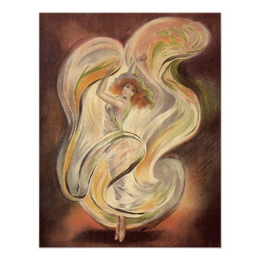 Arte Nouveau, un baile más completo del vintage de Invitacion Personal