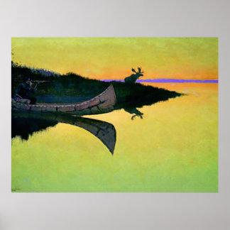 """Arte occidental de Federico Remington """"que viene a"""
