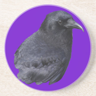 Arte pagano céltico del retrato místico del cuervo posavaso para bebida