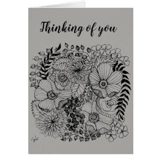 arte para la tarjeta de felicitación de la caridad