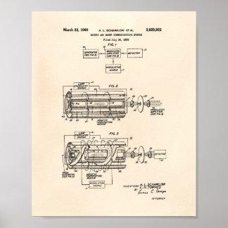 Arte Peper viejo de la patente del sistema 1960