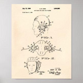 Arte Peper viejo de la patente del water polo del