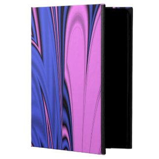 Arte polar azul y rosado funda para iPad air