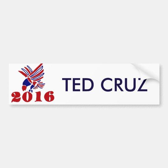Arte político de Ted Cruz Eagle Pegatina Para Coche