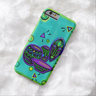 Arte pop africano del artefacto funda para iPhone 6 barely there