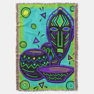 Arte pop africano del artefacto manta