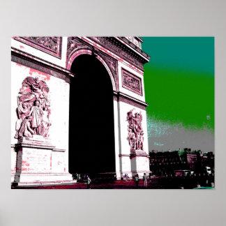 Arte pop Arco del Triunfo