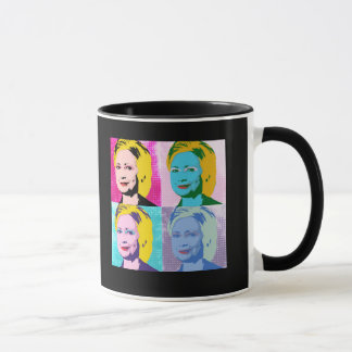 Arte pop de HILLARY 2016 - copia Taza
