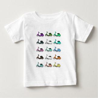 Arte pop de Lambretta Camiseta De Bebé