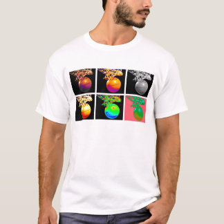 Arte pop de los aros de baloncesto del B-Ball Camiseta