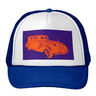 Arte pop de lujo del coche de Packard Gorros