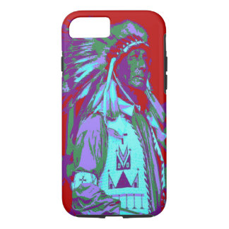 Arte pop del jefe indio funda iPhone 7