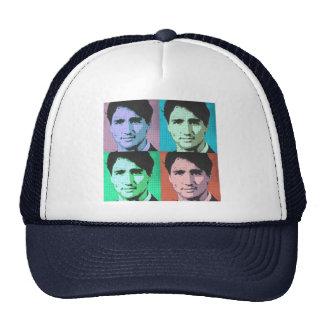 Arte pop Justin Trudeau - 2-.png del mismo tamaño Gorras De Camionero