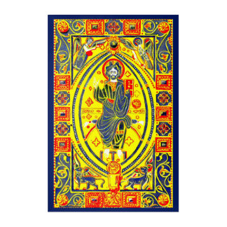 Arte popular bizantino Jesús