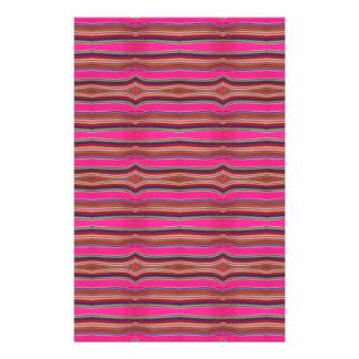 Arte popular México del modelo anaranjado rosado m Papeleria Personalizada