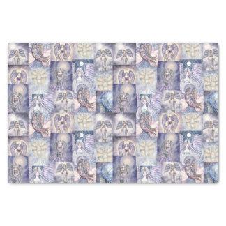 Arte precioso de la fantasía de los ángeles papel de seda