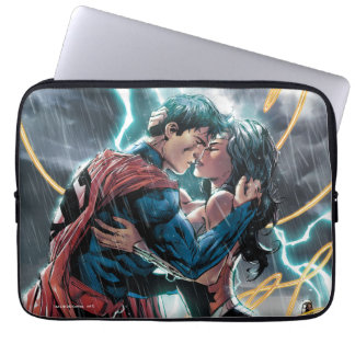 Arte promocional cómico del superhombre/de la funda para portátil