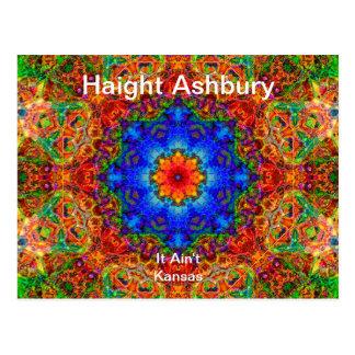 Arte psicodélico de la moda del Hippie de Haight Postal
