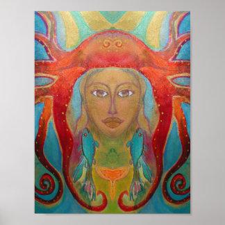 Arte psicodélico - Psychedelic especie póster 60s