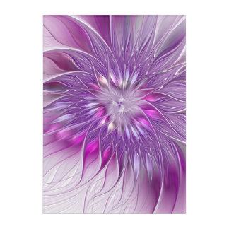Arte púrpura rosado del fractal del extracto de la