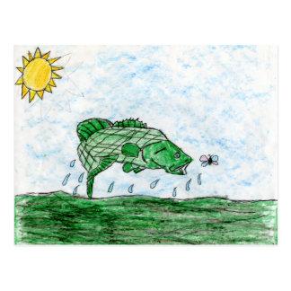 Arte que gana de K. Flack - grado 4 Postal