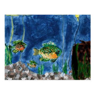 Arte que gana de S. Jacobson Grade 7 Postal