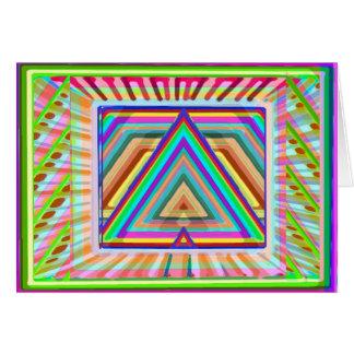 Arte que hace estallar de 77 ojos - HappyBirthday  Tarjeta De Felicitación