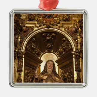 Arte religioso que representa a Santa Teresa 2 Adorno De Navidad