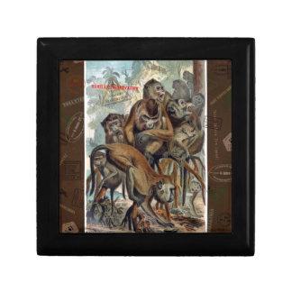 Arte responsable del viaje del Macaque Joyeros