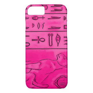 arte rosado egipcio de Pharoah del Topaz del Funda iPhone 7