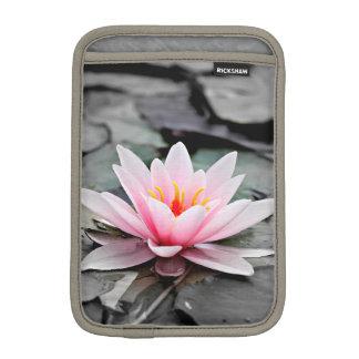 Arte rosado hermoso del zen de Waterlily de la Funda Para iPad Mini