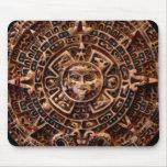Arte sagrado Mousepad del calendario de Sun del Ma Tapete De Raton
