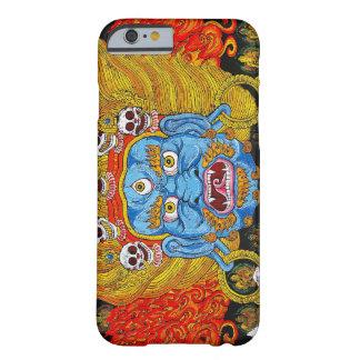 Arte tibetano oriental fresco del tatuaje del funda de iPhone 6 barely there